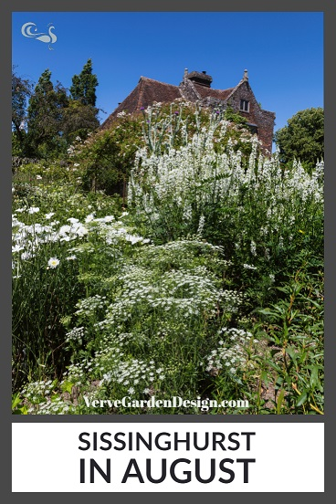 The White Garden at NT Sissinghurst Castle in August. Image: Chris Denning/Verve Garden Design.