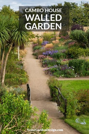 Cambo House Walled Garden in September. Planting Design: Elliott Forsyth. Image: Chris Denning/ Verve Garden Design.