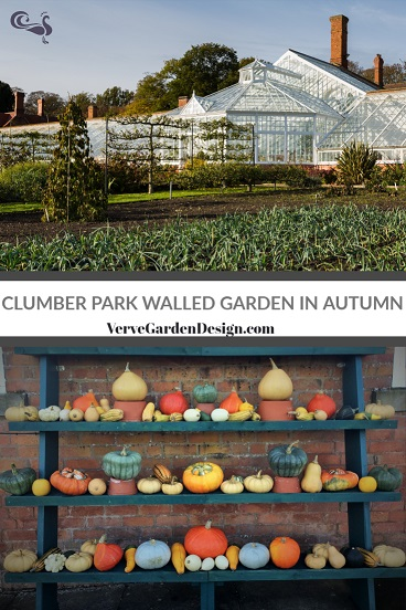 Clumber Park Kitchen Garden in Autumn