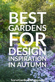 Best Gardens To Visit For Autumn Colour.  Image: Chris Denning/ Verve Garden Design.