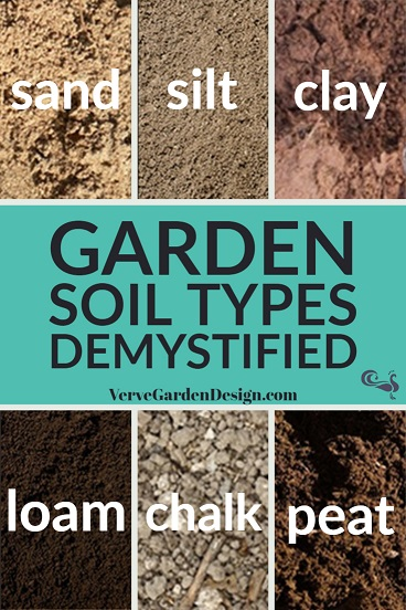 The soil types you need to know about before designing your garden.