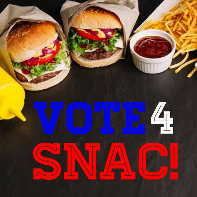 Ok, First Forney Students, let your voices be heard as your stomachs guide your fingers in our first SNAC vote! Simply like one of the next 3 posts to place your vote. Post with most ❤️'s is the winner.  Voting will end at 10:00 pm on Saturday and winner announced on Sunday morning!