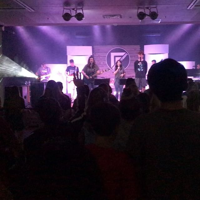 Awesome night of worship last night at The House!