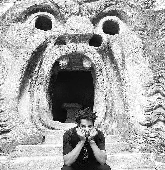 Monsters #bomarzo  Ciao Grande Roma Ce soir @silencio_club