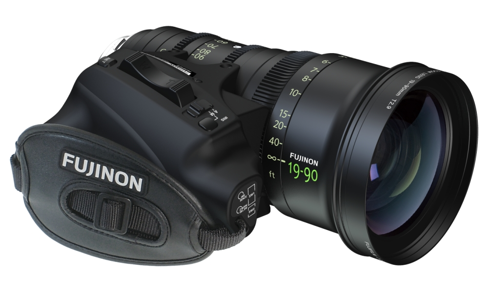 Fujinon 19-90mm T2.9 Cabrio lens