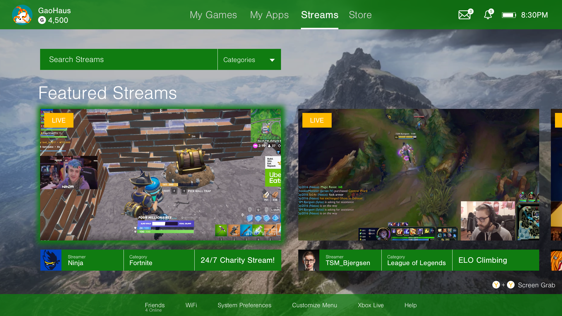 Watch Streams, not Ads - Experience an immersive dashboard that highlights top live streams from games to IRL content. The space used for advertisements is replaced with useful information about streamers, the categories, and their content.
