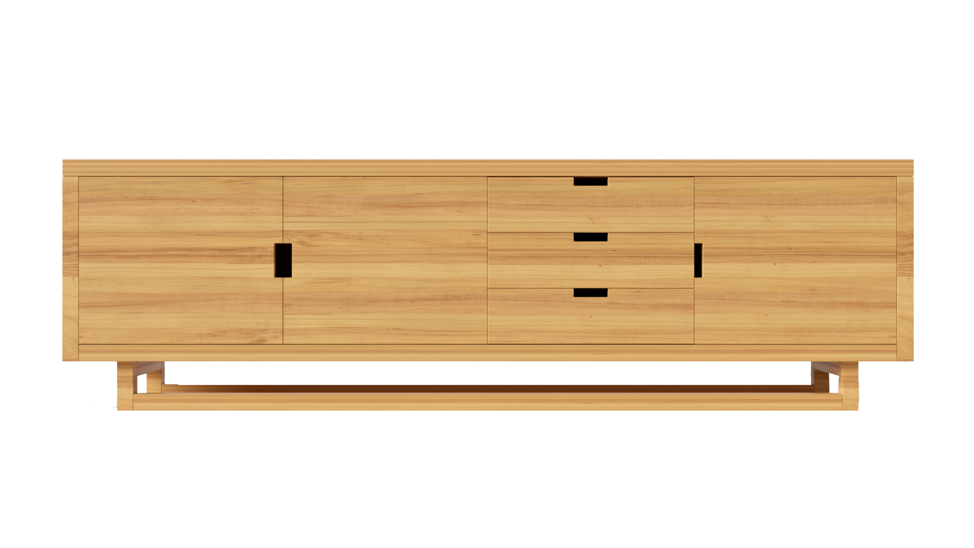 Corbets Console Natural Oak