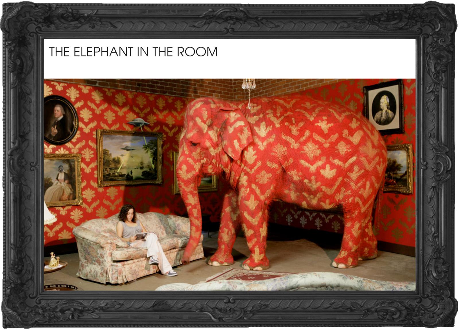 Estúdio447 Coworking Moema & English Club - aulas de inglês - Banksy elephant