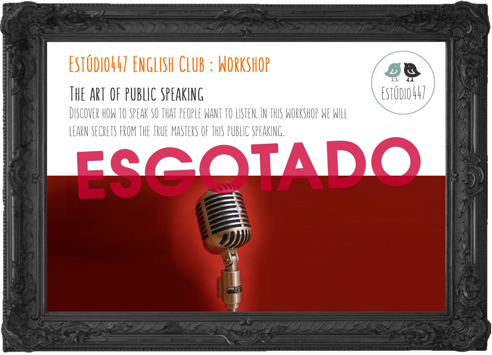 Estúdio447 Coworking Moema & English Club - The art of public speaking