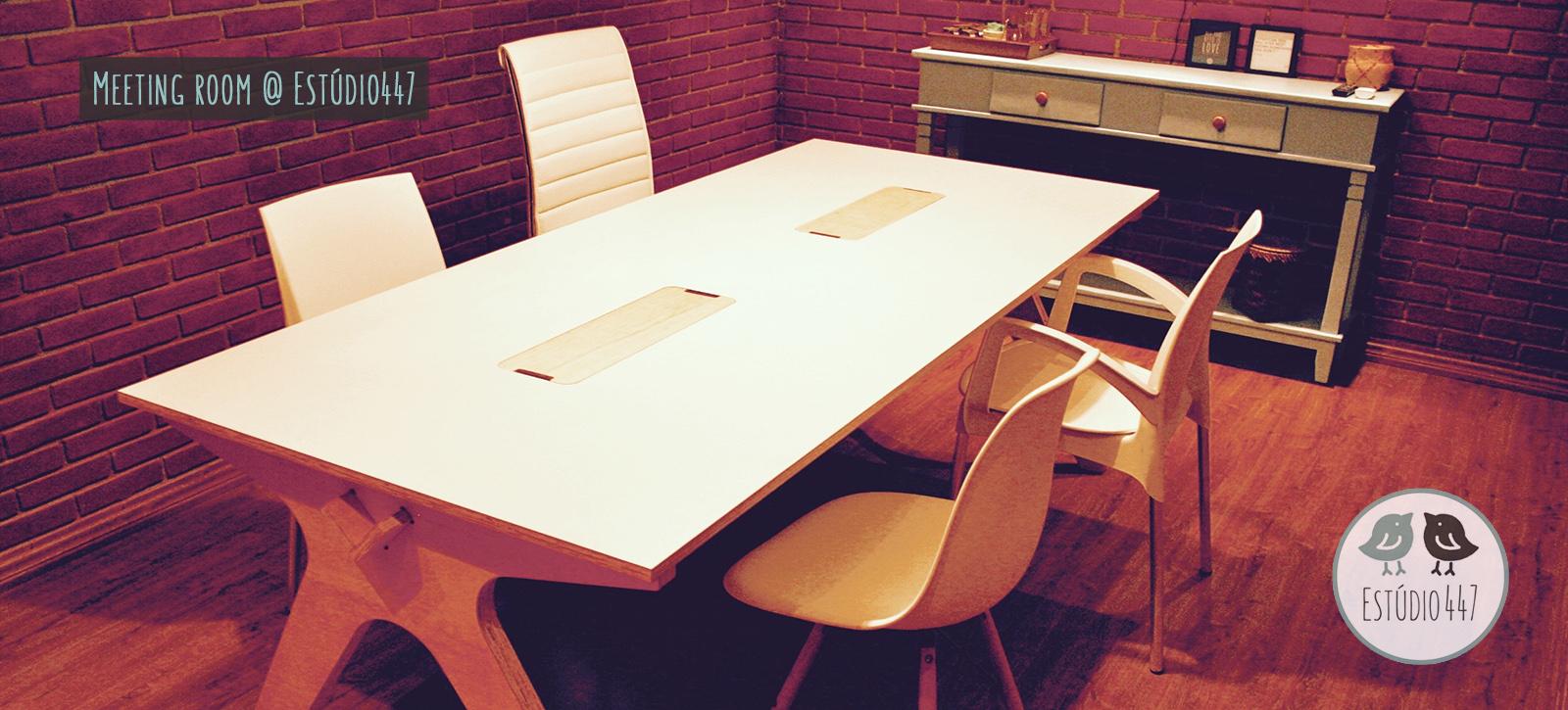Estúdio447 Coworking Moema - Sala de reunião