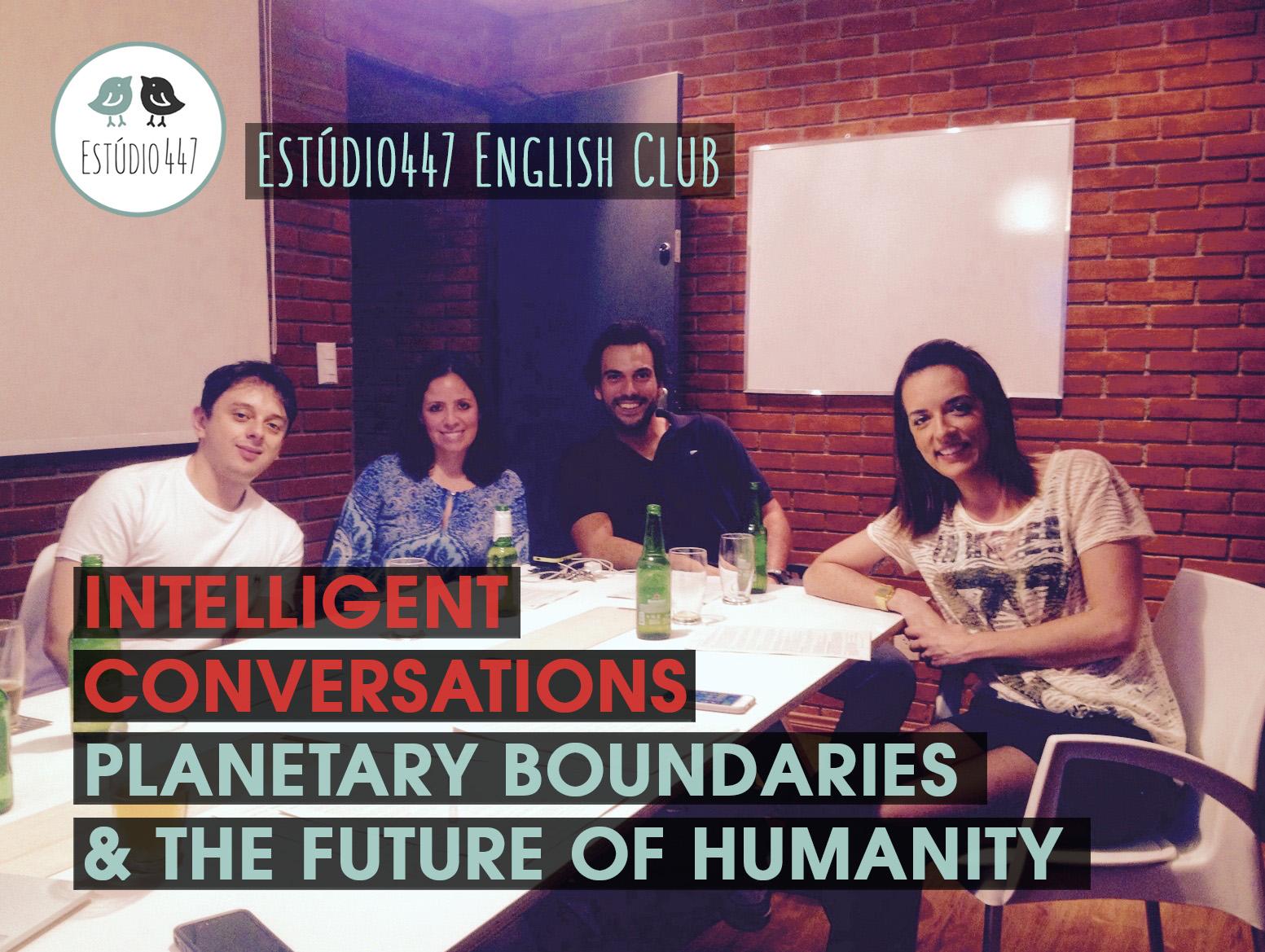 Estúdio447 Coworking Moema & English Club - PLanetary Boundaries Workshop