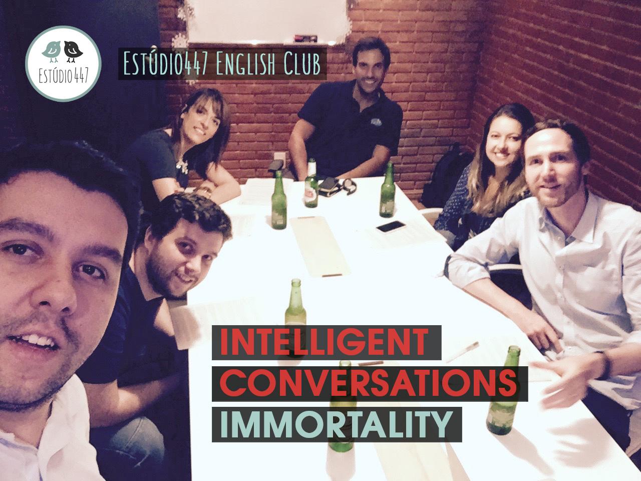 Estúdio447 Coworking Moema & clube de inglês - workshop sobre immortalidade