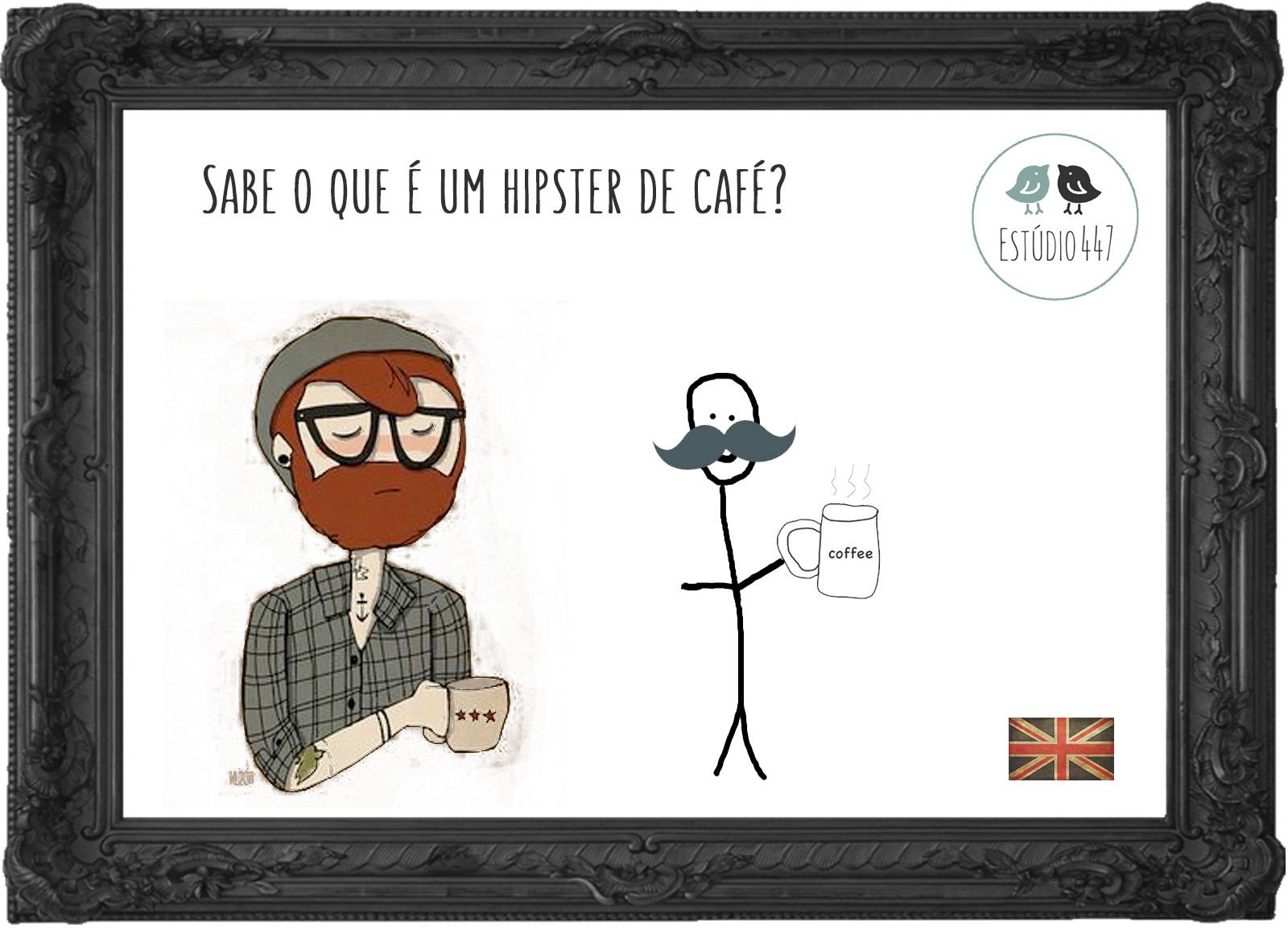 Aulas de inglês sobre café