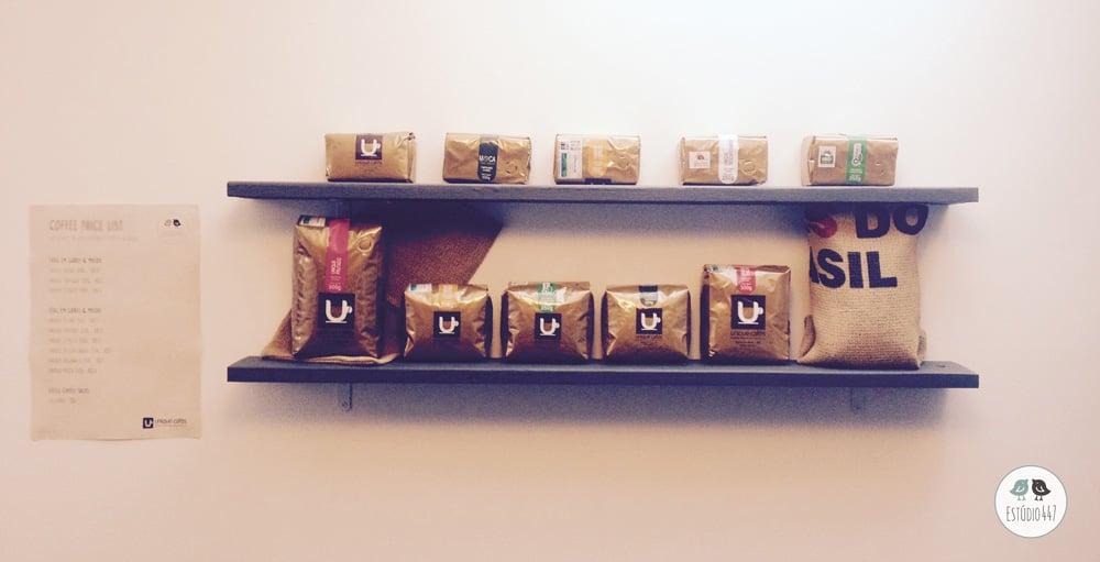 Unique Cafés no Estúdio447 Coworking Moema