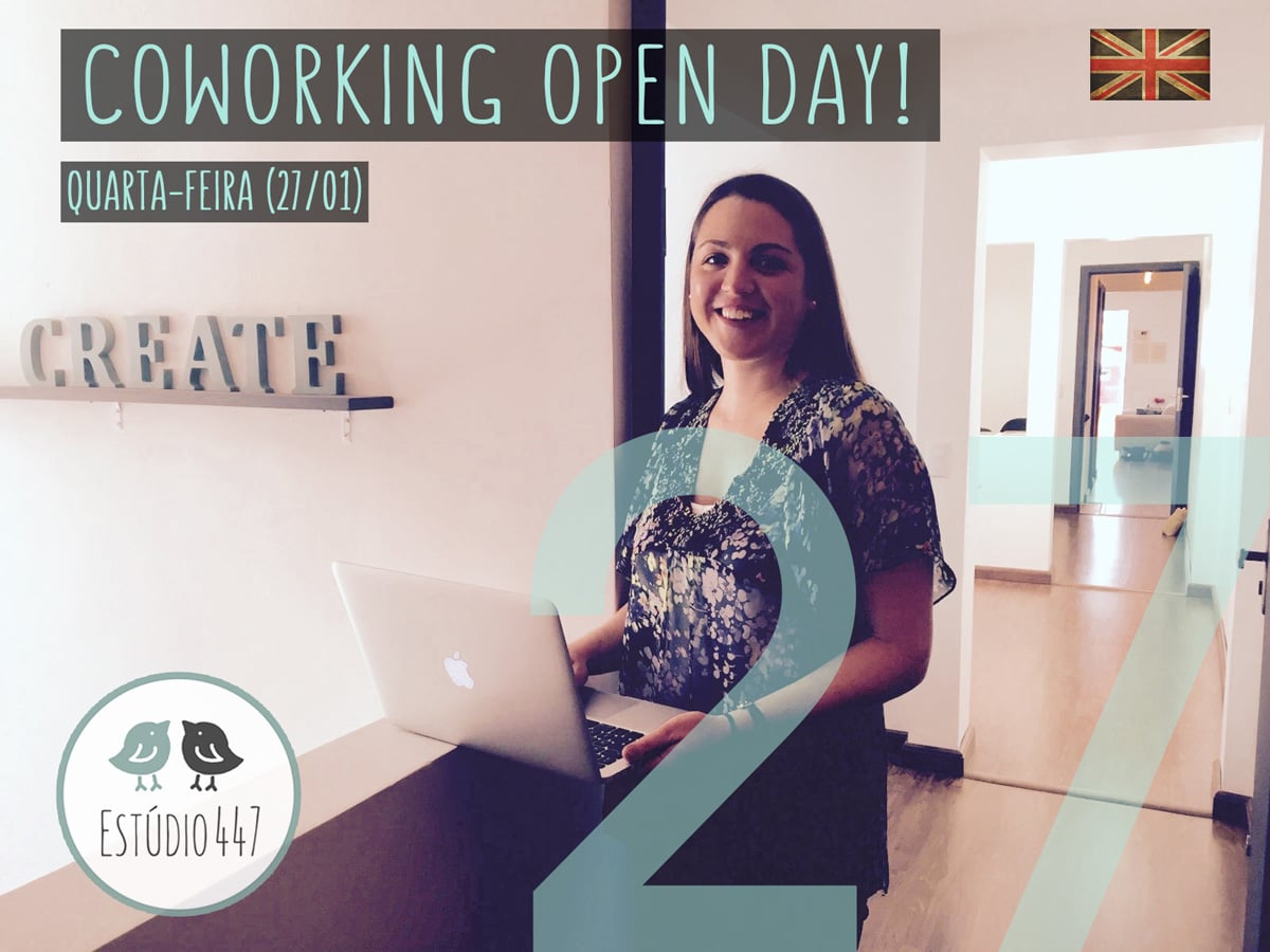 Open Day do Estúdio447 Coworking Moema & English Club
