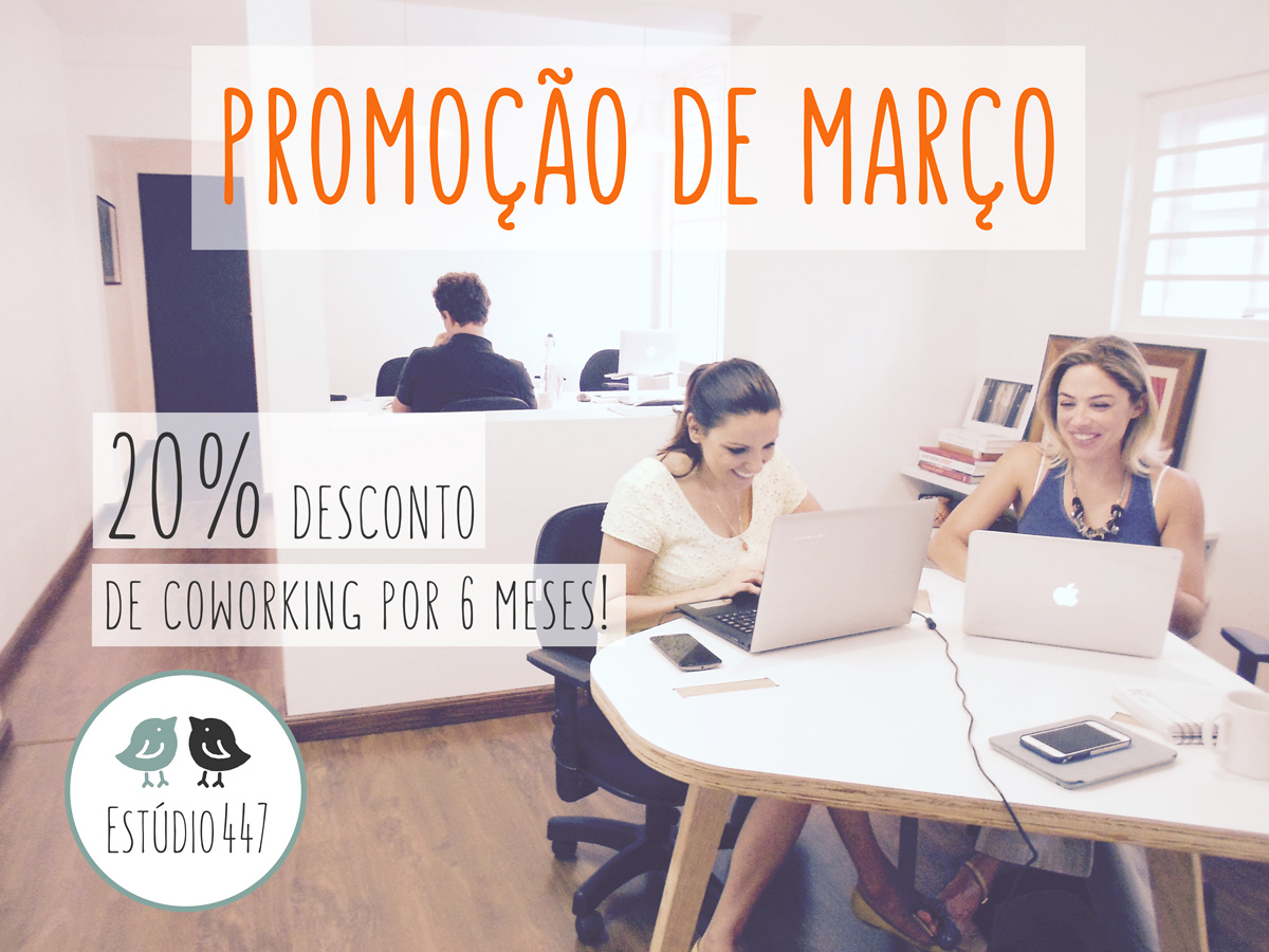 Estudio447 Coworking Moema & English Club - Promo??o