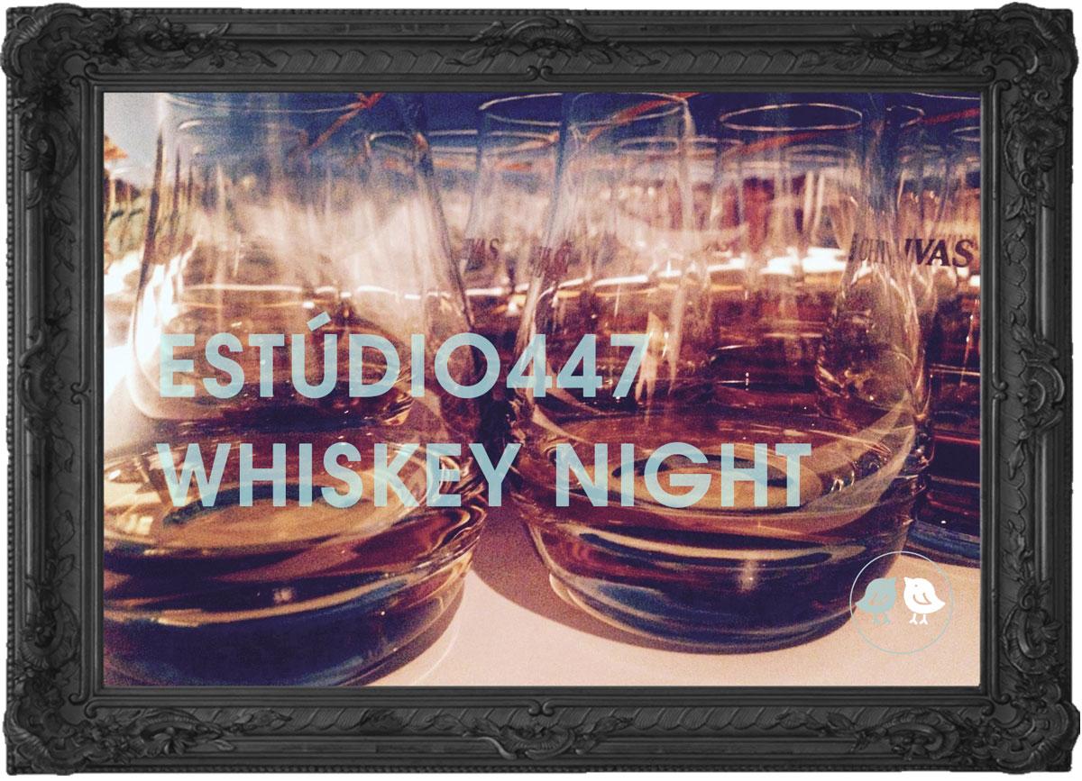 Whiskey Night Estúdio447 Eventos em inglês