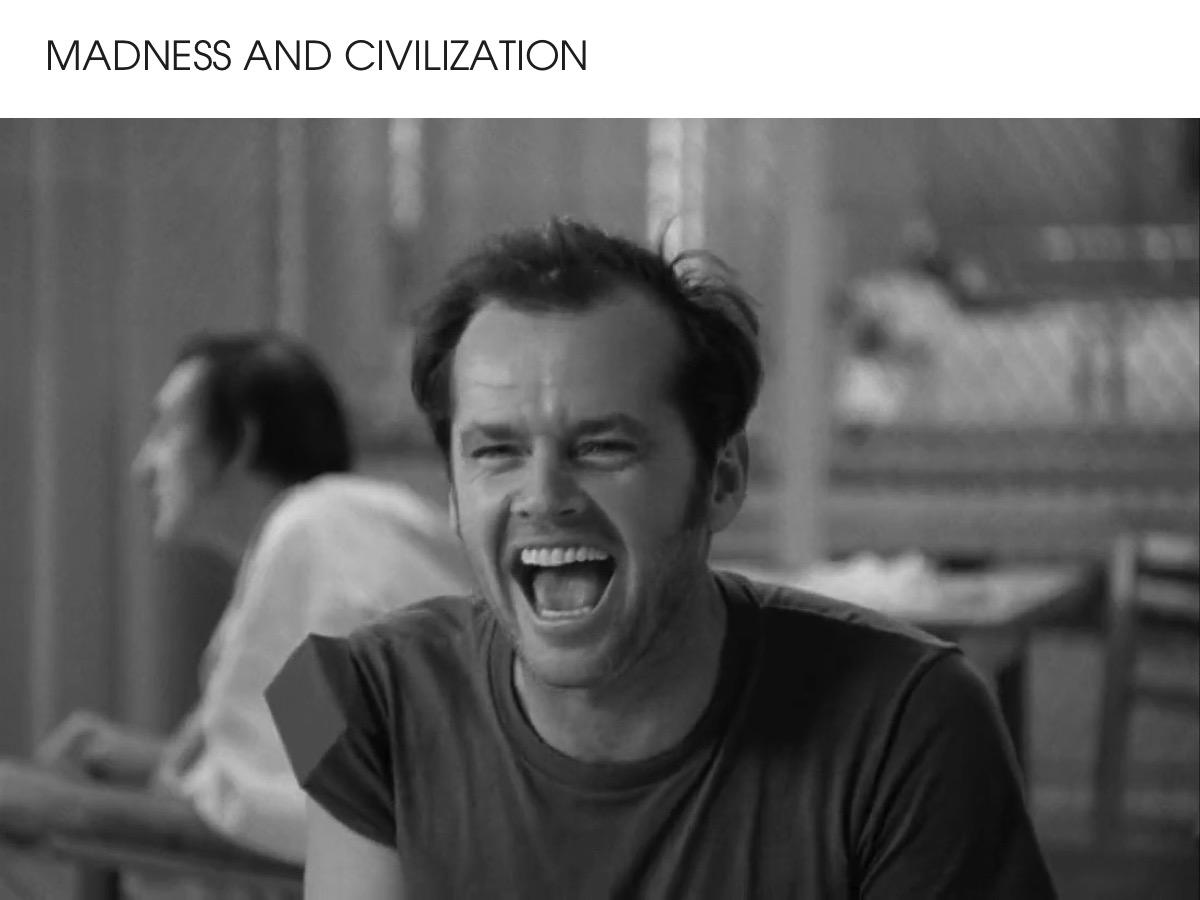 Madness and Civilisation
