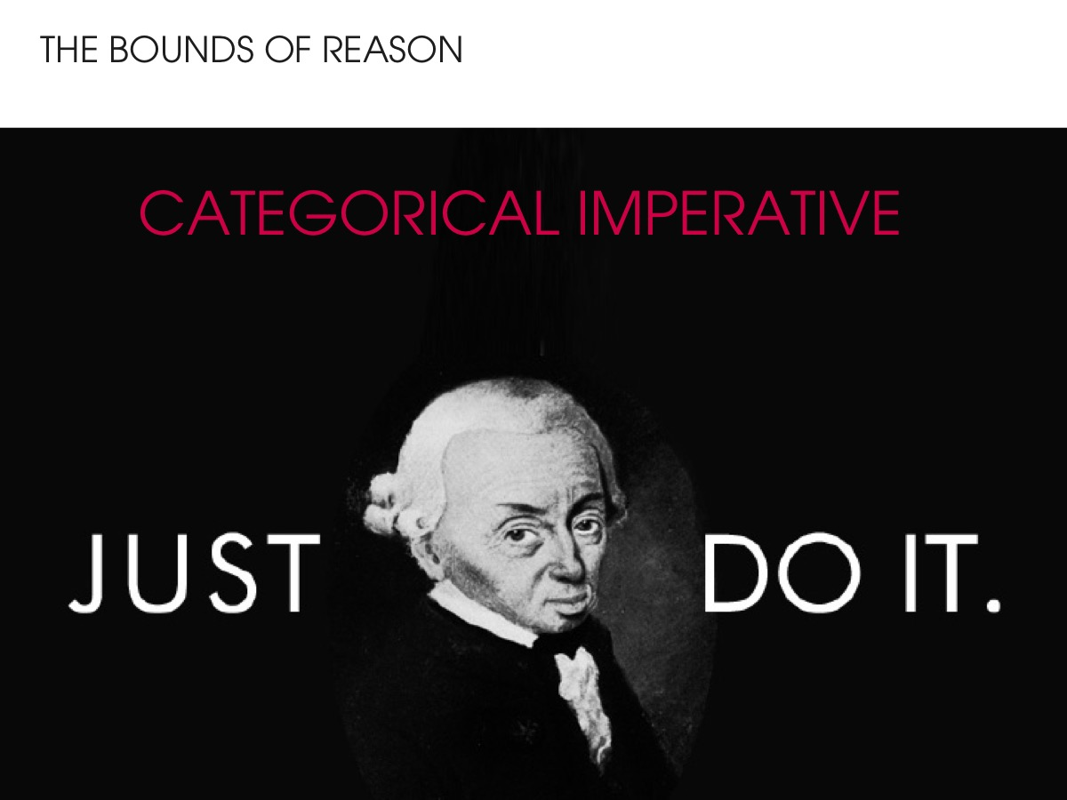 Kant - Just do it