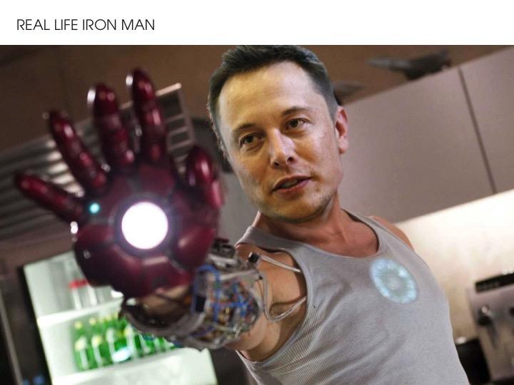 Elon Musk - Real Life Iron Man