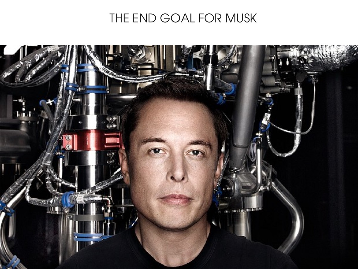The End Goal for Musk