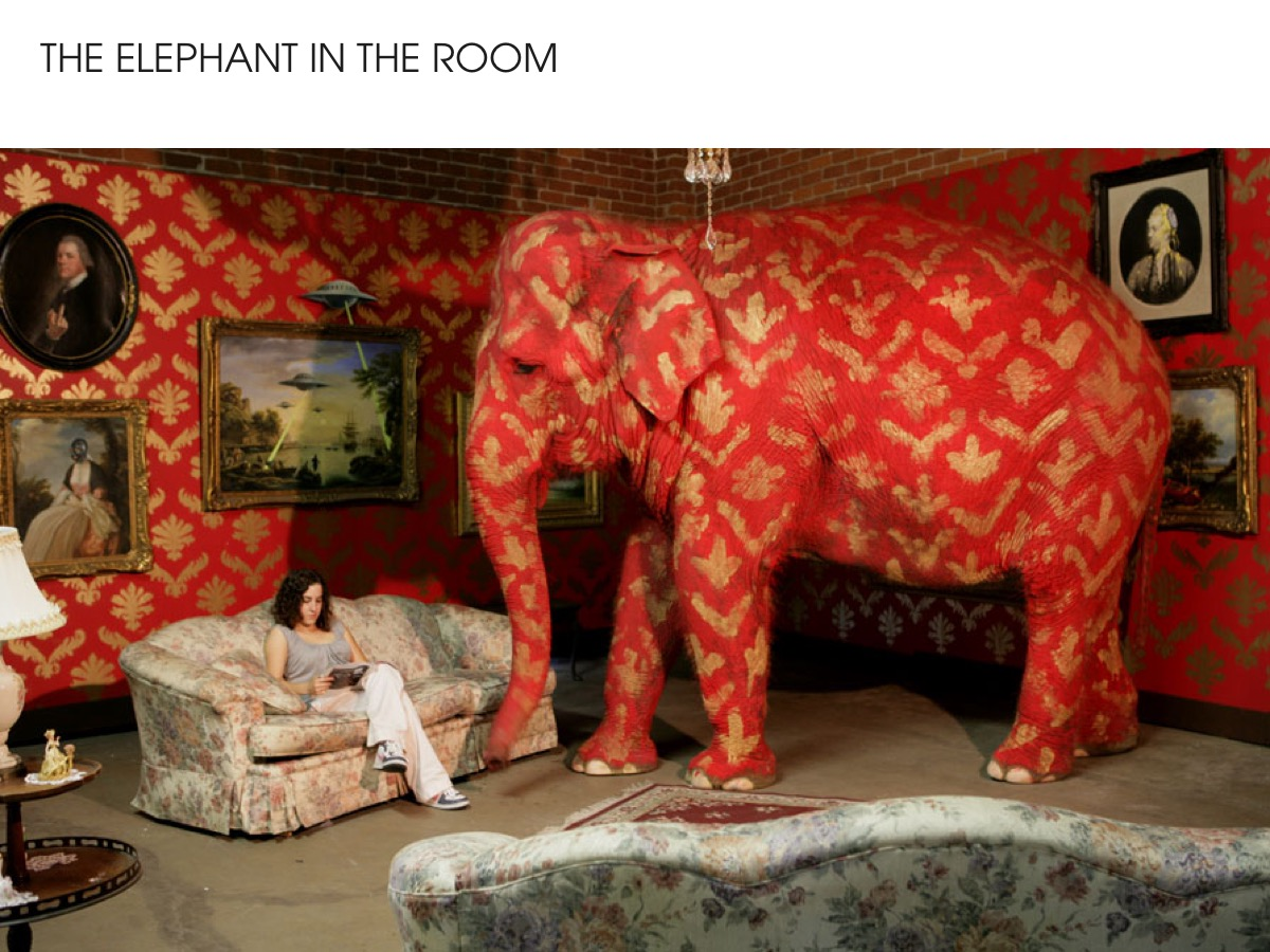 Banksy - The elephant in the room