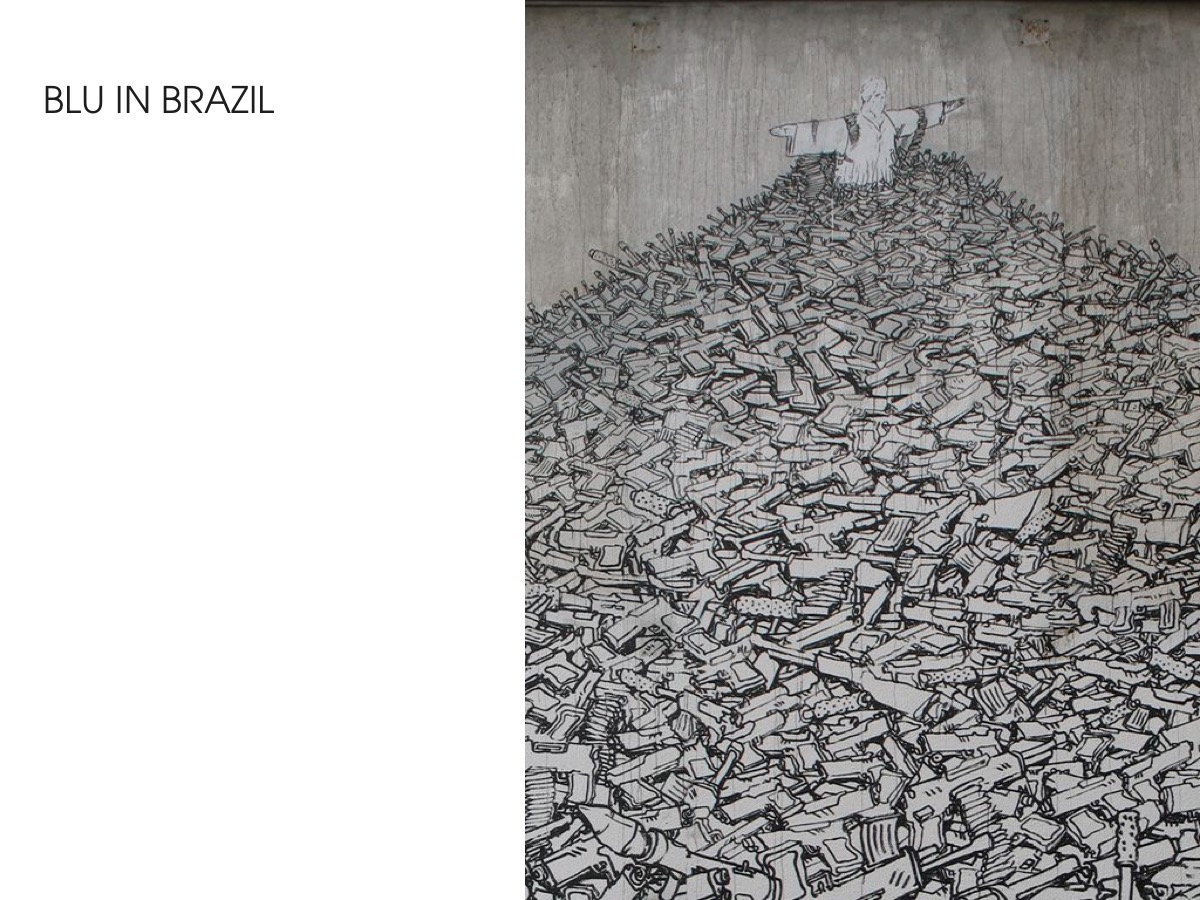Blu in Brazil