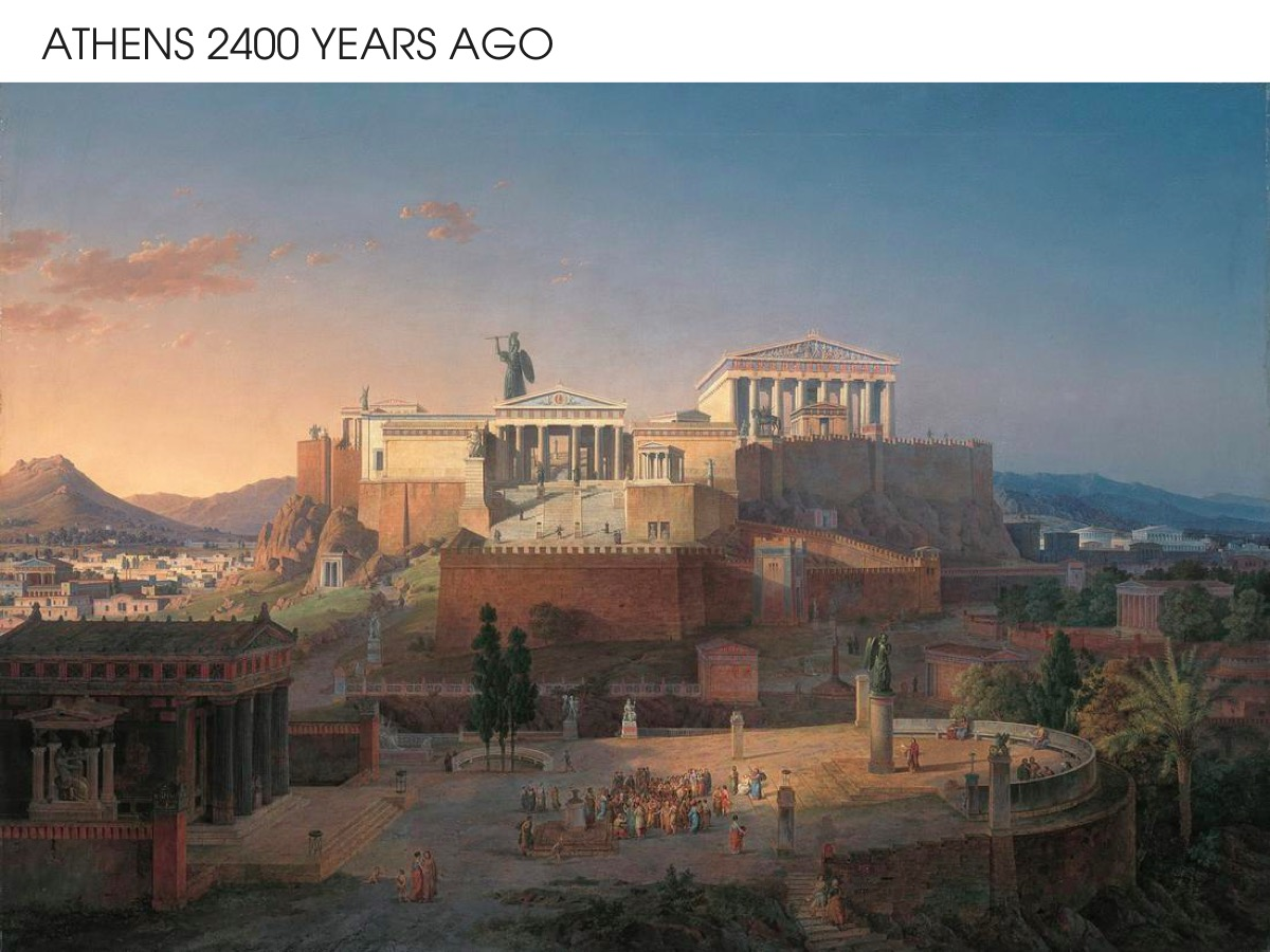 Athens 2400 years ago