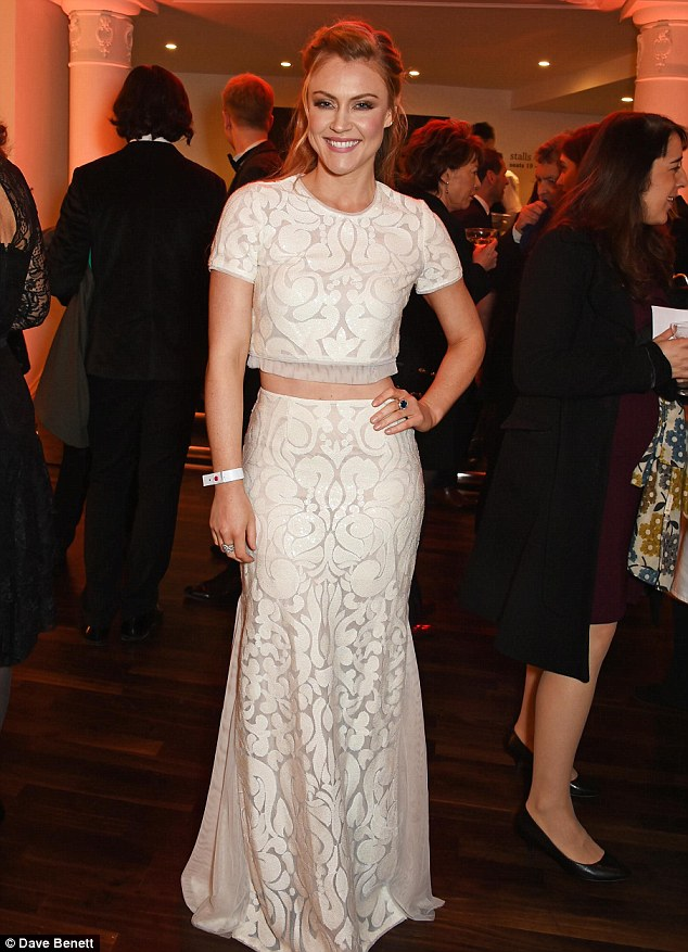 Camilla Kerslake attending The Evening Standard Theatre Awards