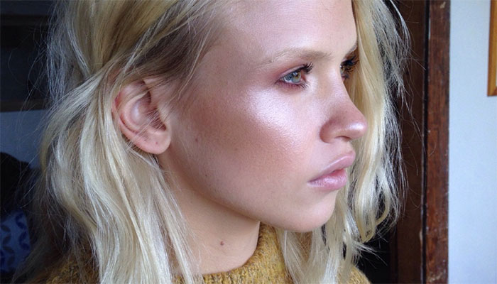 Highlighting by Australian based makeup artist Ania Milczarczyk