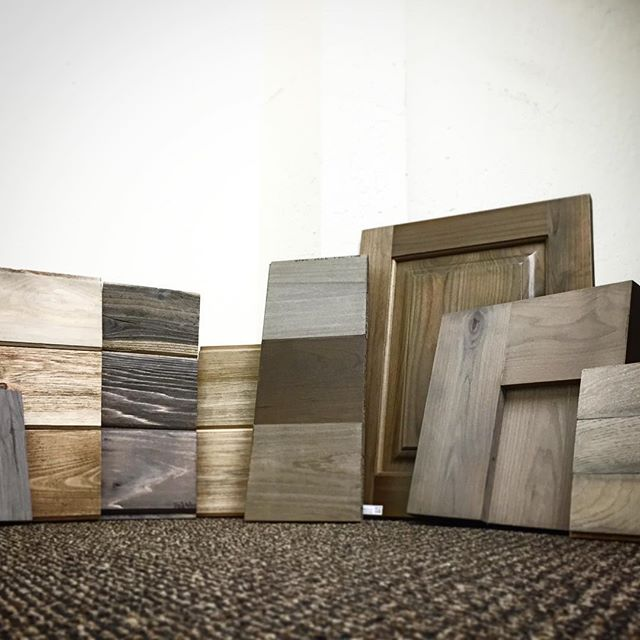 We got a few new Weatherwood Stain samples in today - great looking stuff!