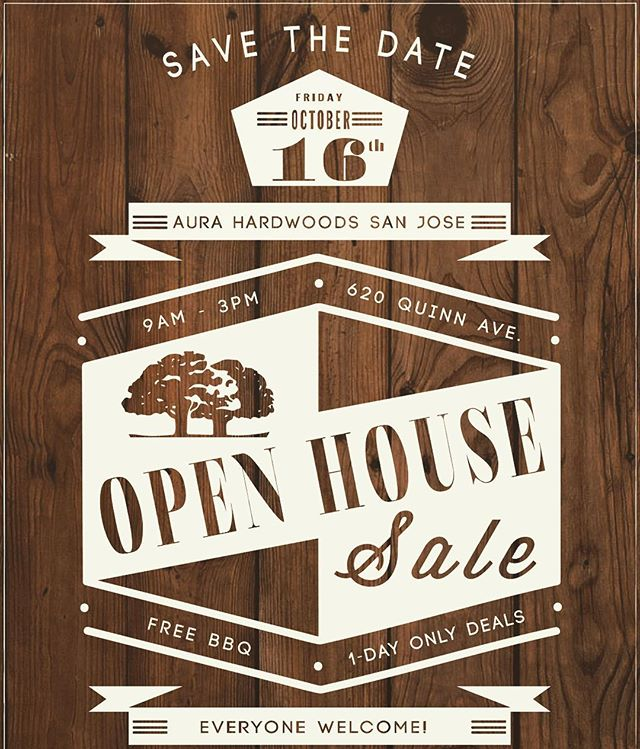 Come join us @ our San Jose Warehouse on Friday October 16th for FREE BBQ & 1-DAY ONLY SPECiALS!