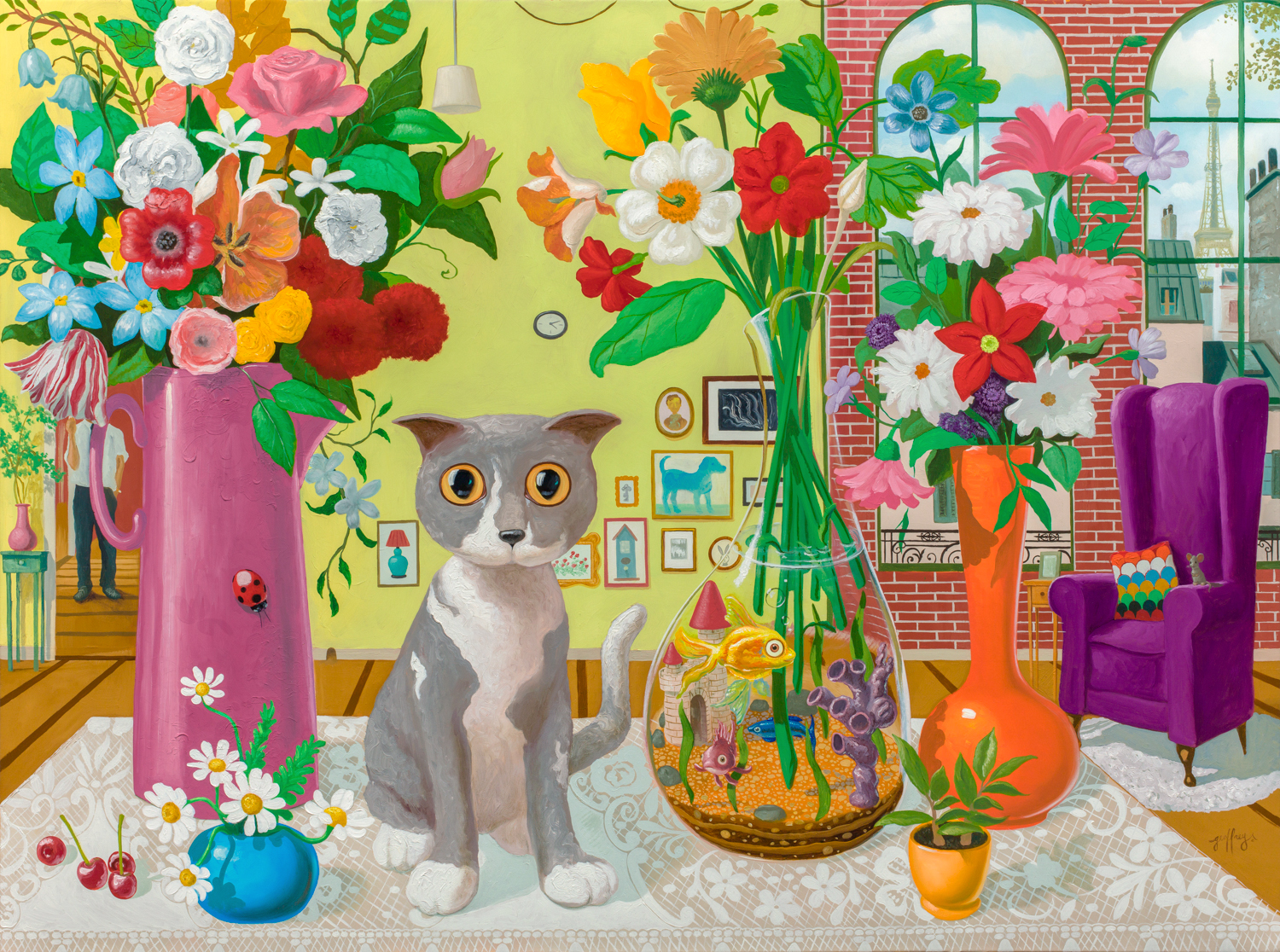 Still Life In The Florist's House