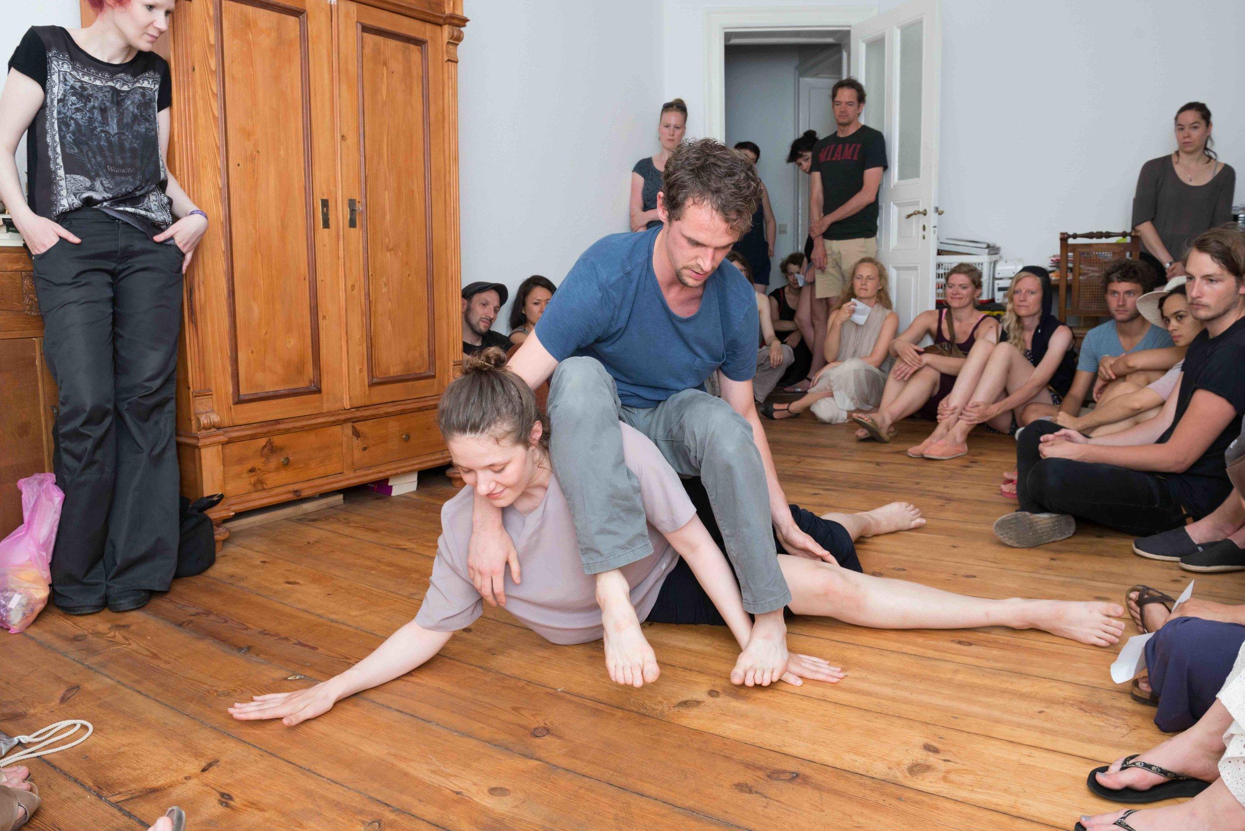 © Ines Borchart. dancers: Leah Marojević, Christopher Owen