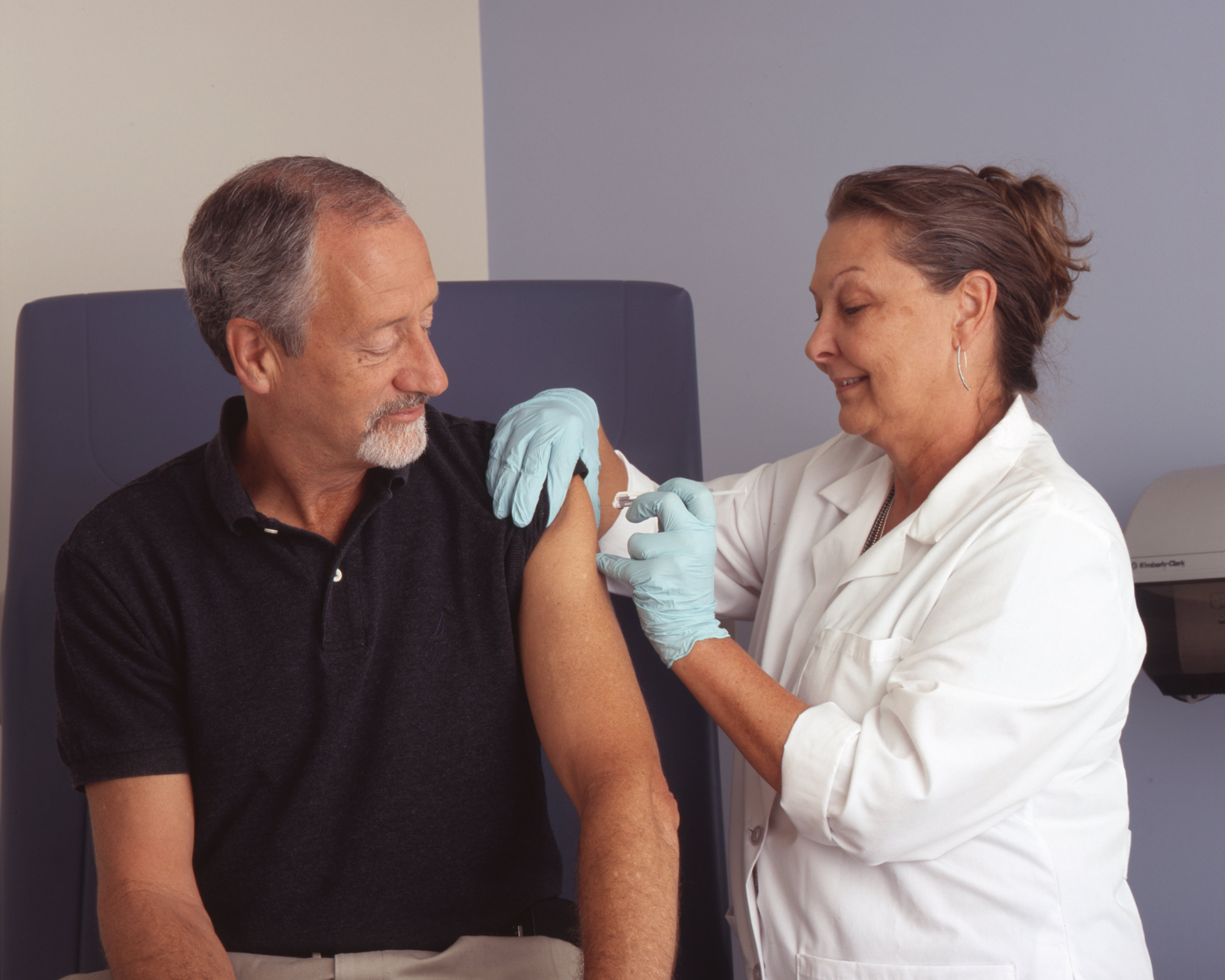 Workplace clinics are an easy way to get immunized