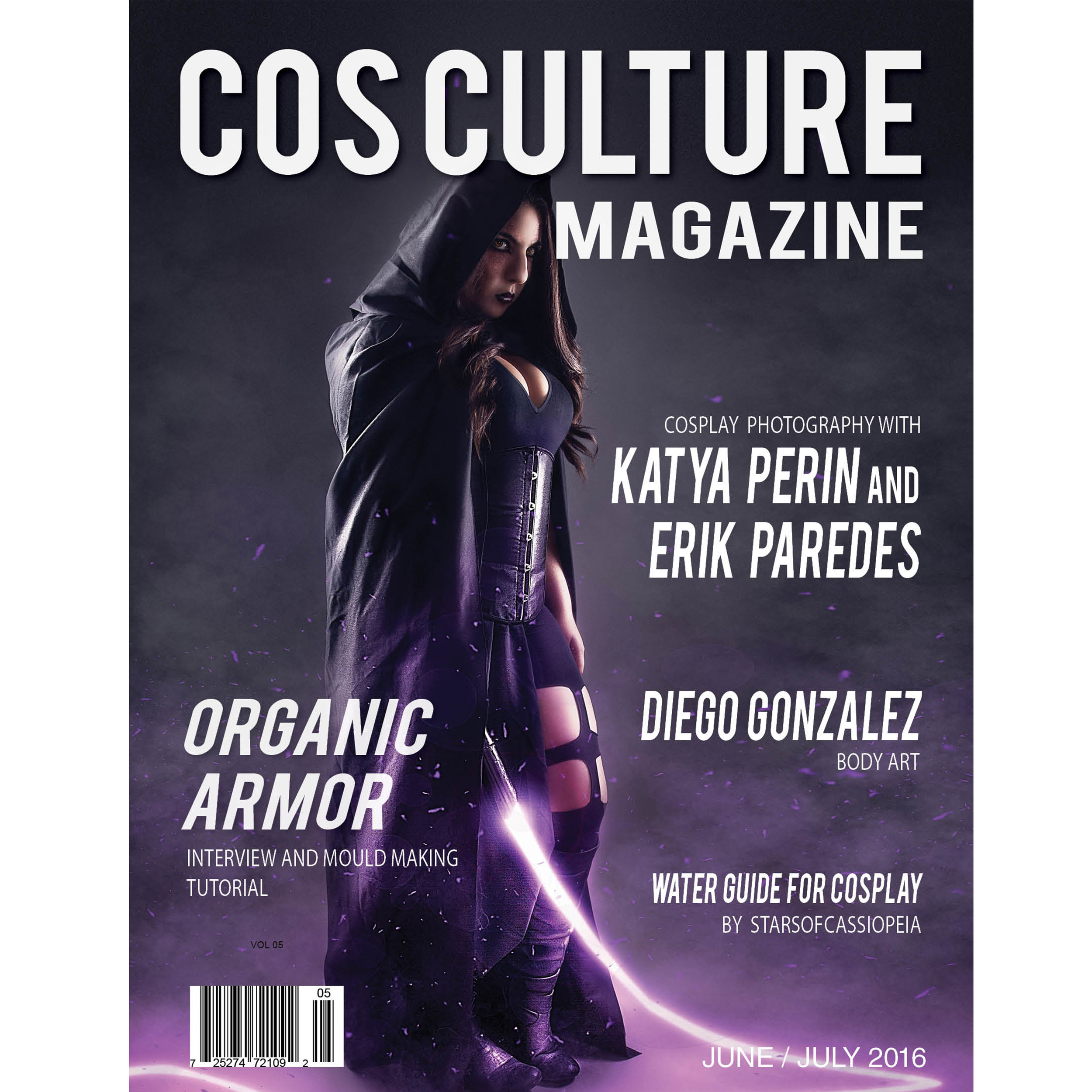 Featured Photographer in Cos Culture Magazine June/July 2016 Issue