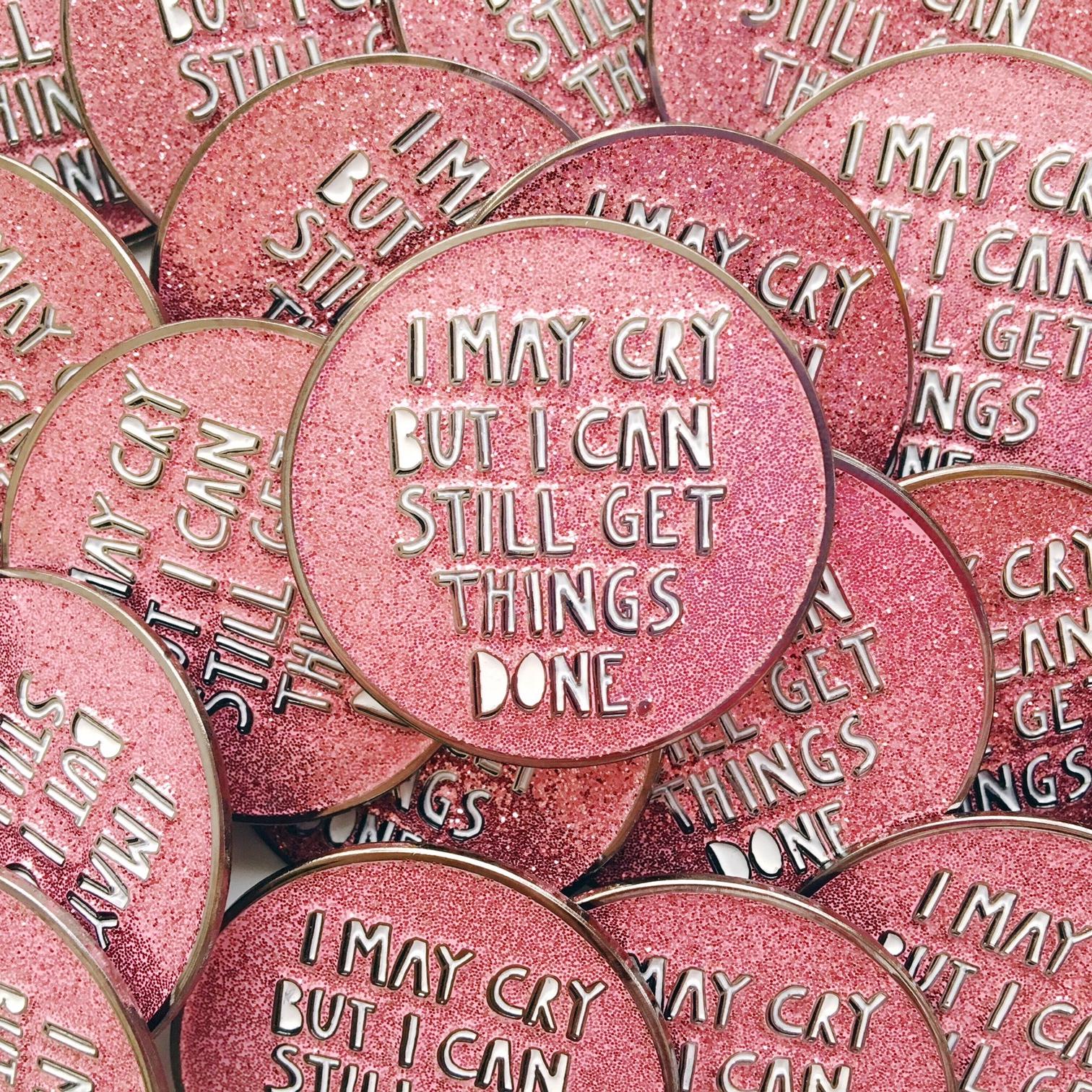 I May Cry pins