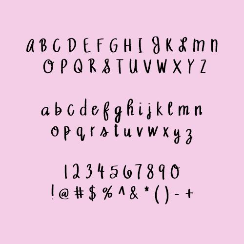 Piper Font 2017