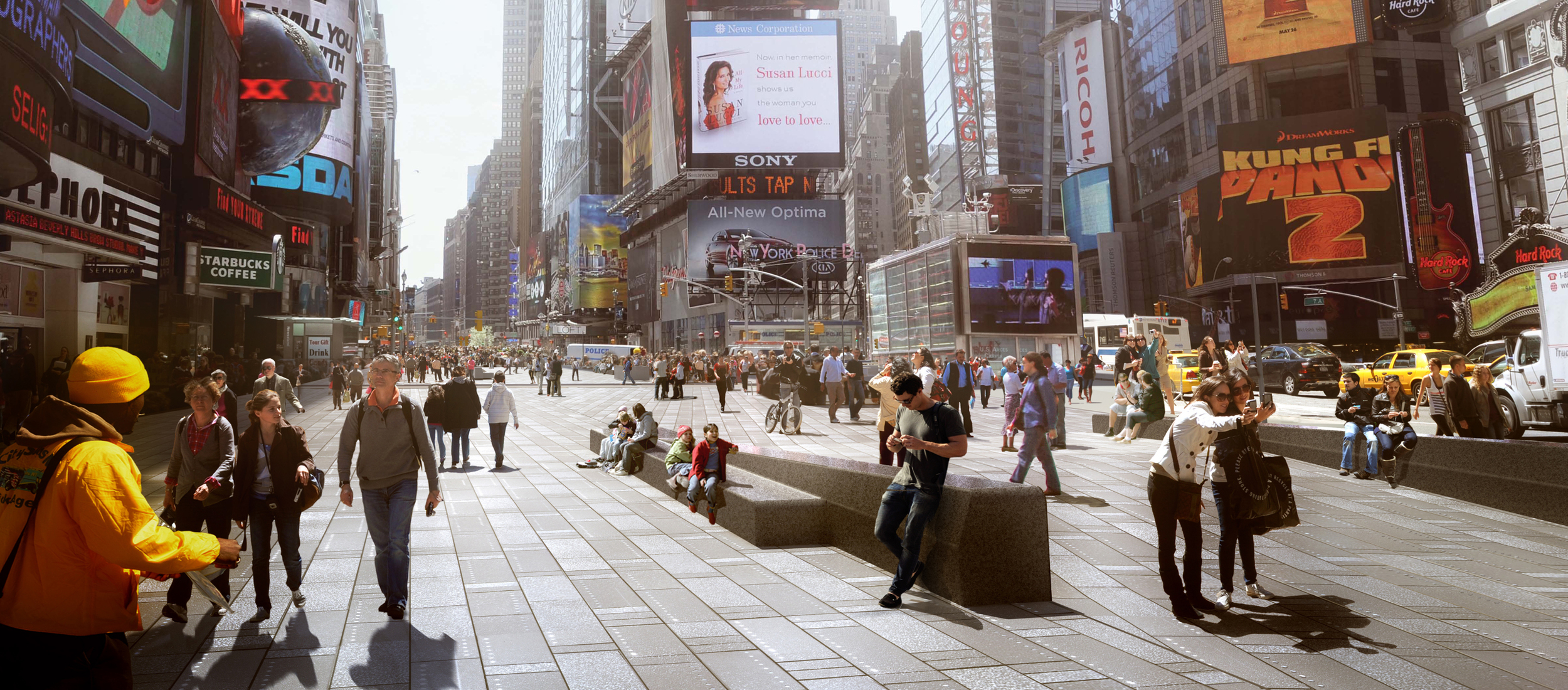 Times Square Reconstruction