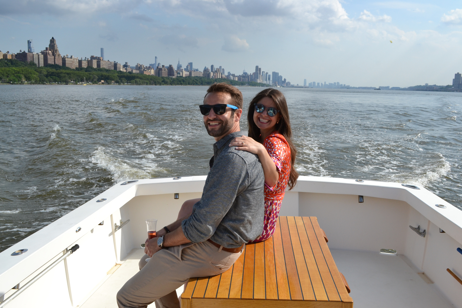 Cruise up Hudson River