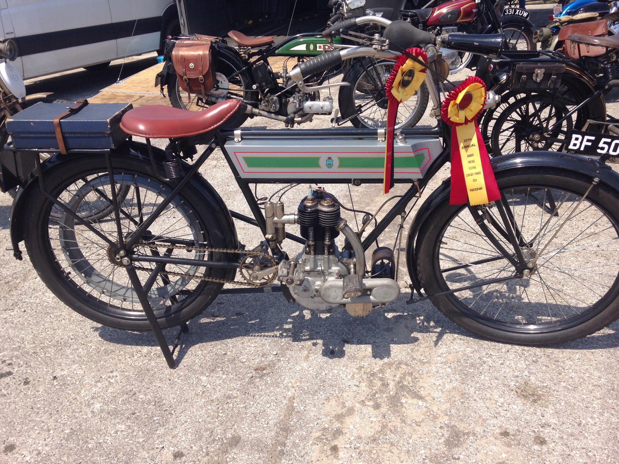 Mike Carson's 1911 Triumph