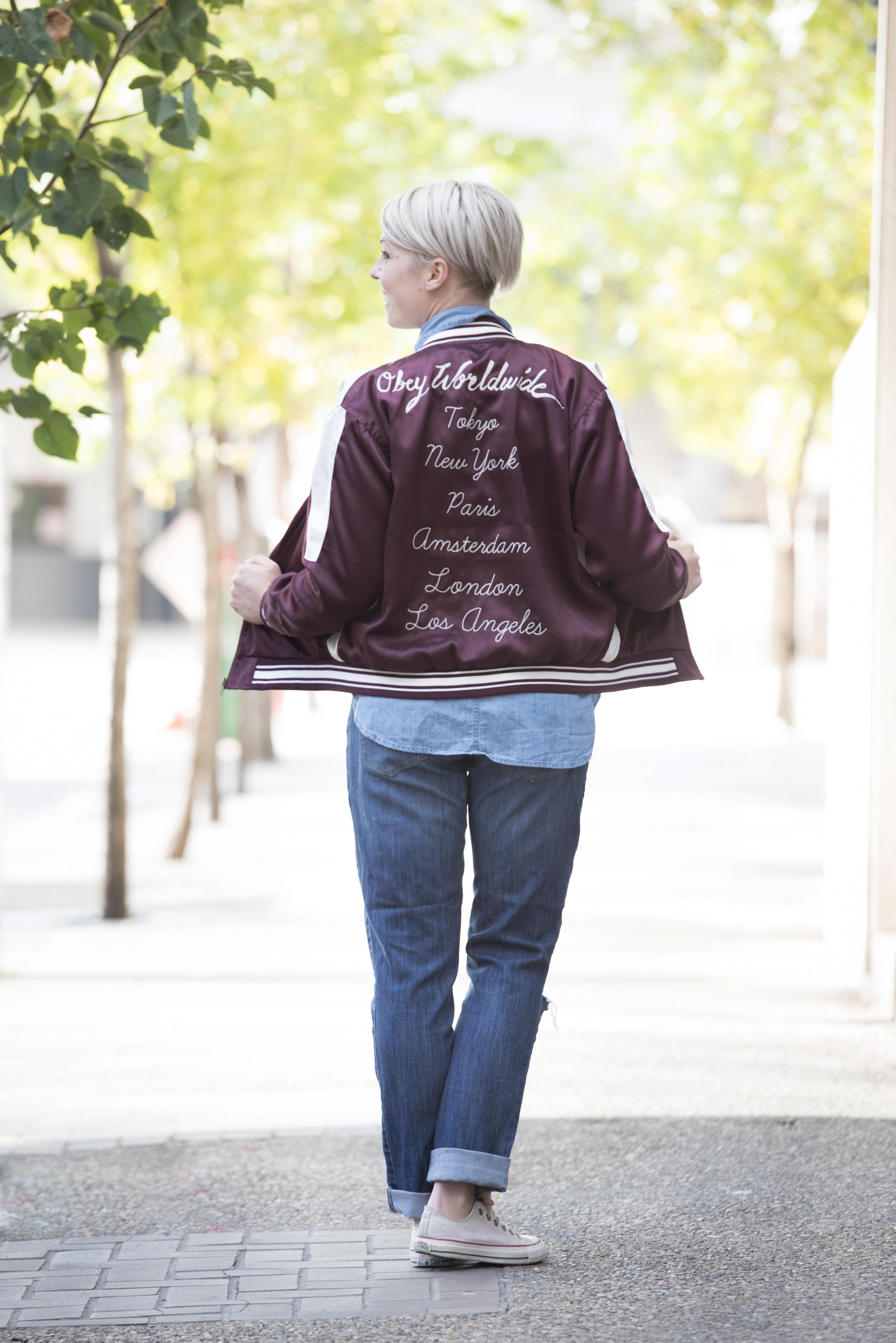 Jacket by OBEY