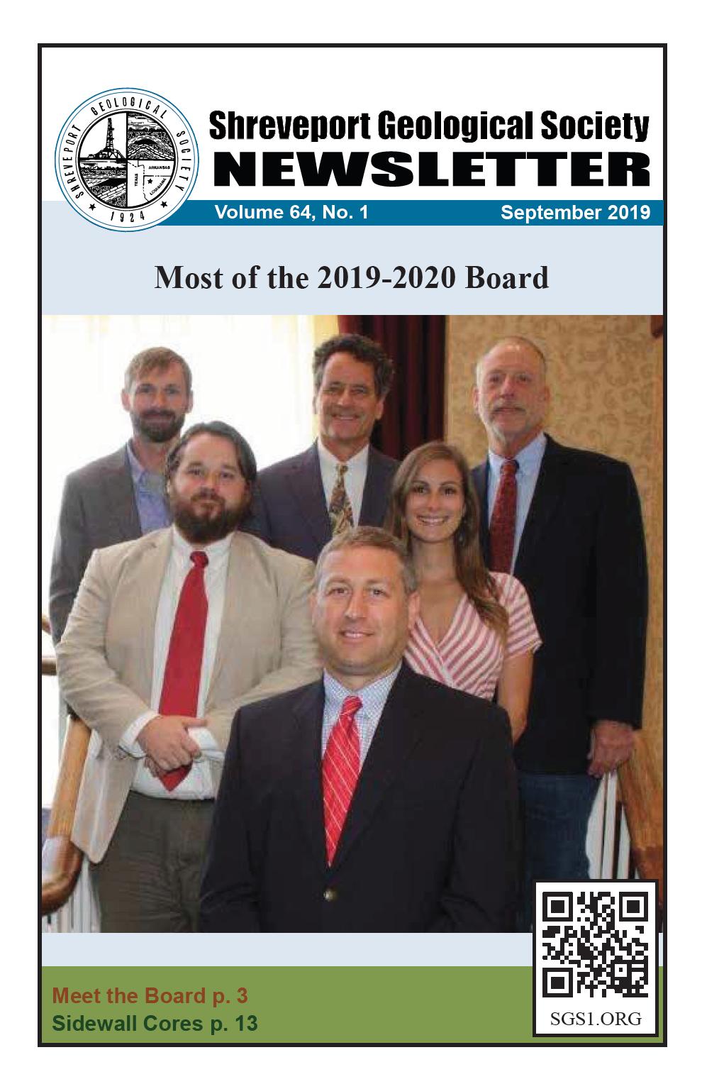 September 2019 Shreveport Geological Society Newsletter Cover.png