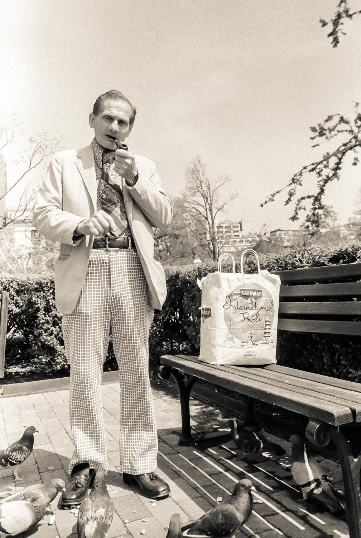 Tony, Lafayette Park, Washington D.C.,1984
