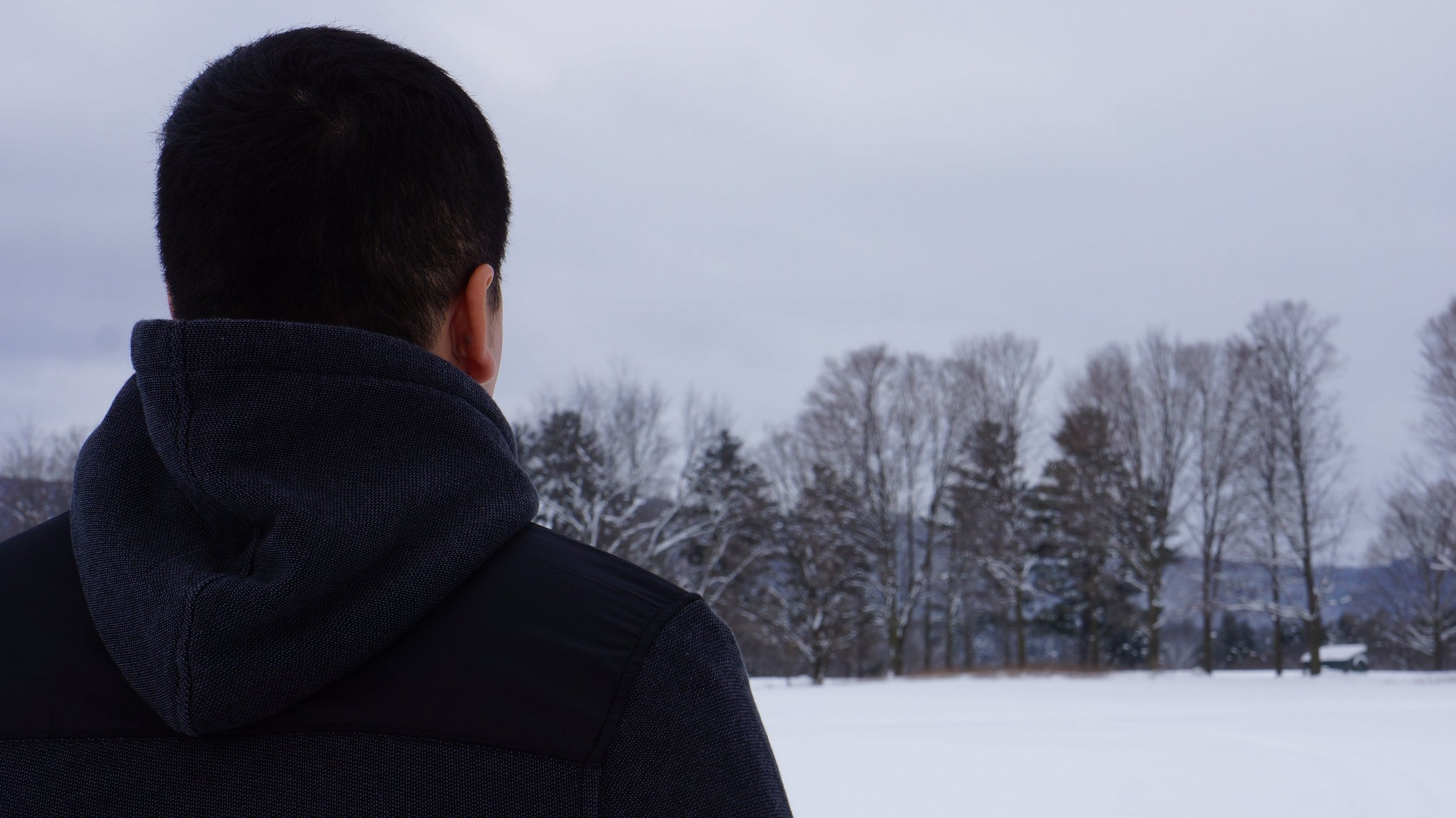 An undocumented farm worker in New England, USA. Photo by Erica Heilman.