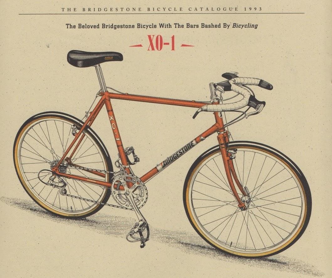 One of Grant's Bridgestone bikes