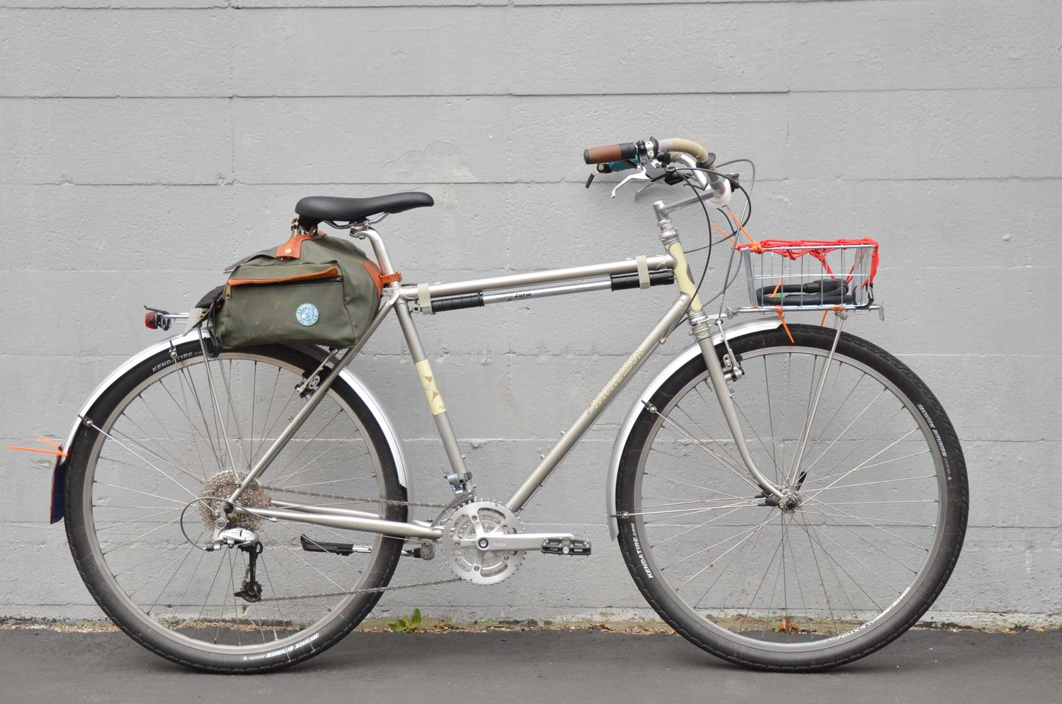 One of Grant Petersen's personal bicycles.
