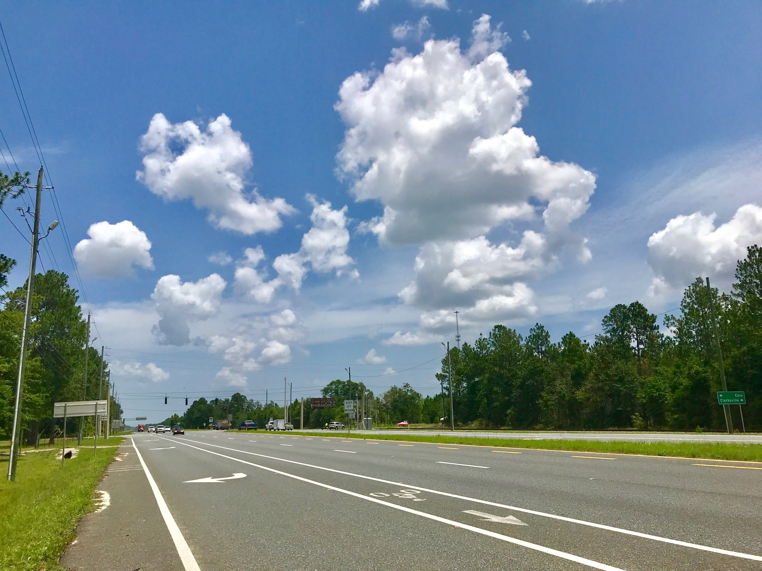 One of the places in Florida where there are no taxis or ride share drivers.