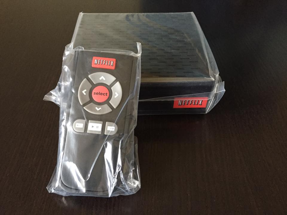 The Netflix Box (photo courtesy of friends and former co-worker  Joel Sass )