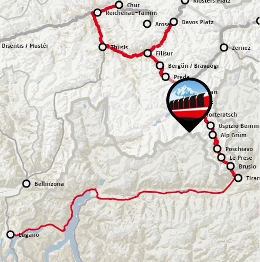 Bernina Express Preda
